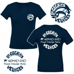 """T-shirt femme """"Les Geckos..."""
