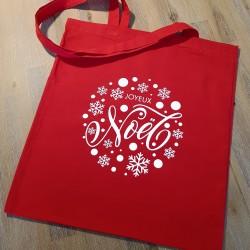 """Sac tote bag """"Joyeux Noel"""""""