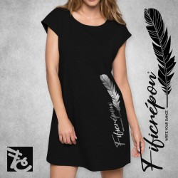 "Robe t-shirt ""Write your..."