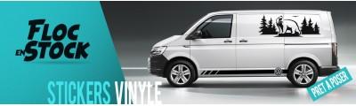 Sticker vinyle pour véhicule, van, fourgon...